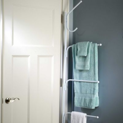 White Hinge-It® Space Saver Hanger