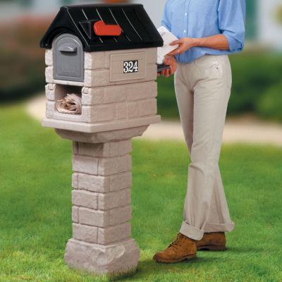 Step2 Stone Mailbox