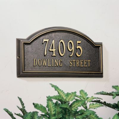 Providence 2-Line Wall Plaque