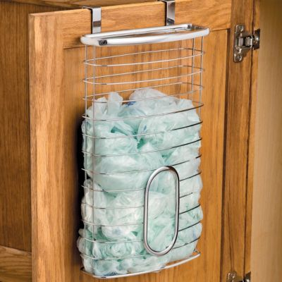 Over The Cabinet Bag Holder