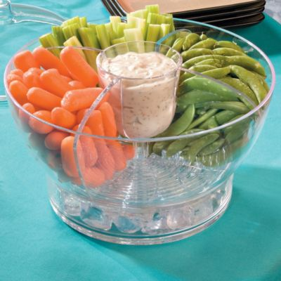 Iced Serving Bowl