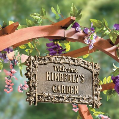 Personalized Garden Sign