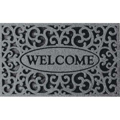 Scroll Welcome Door Mat