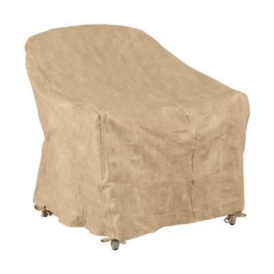 Ovesize/Resin Wicker Lounge Chair Cover