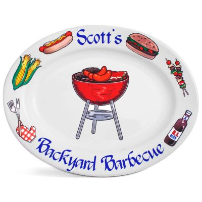 Personalized BBQ Platter