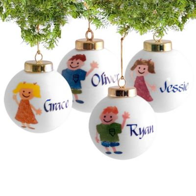 Personalized Children's Christmas Ornament