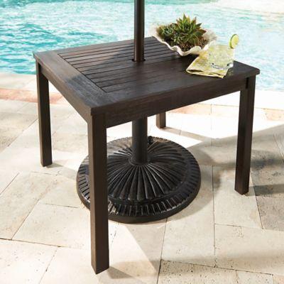 Eucalyptus Umbrella Table