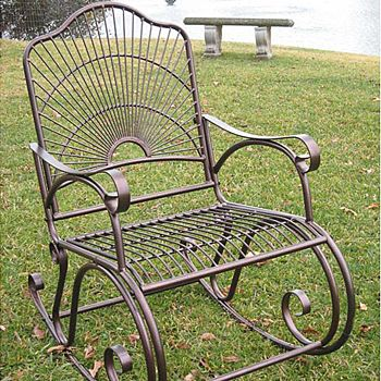 Metal Porch Rocker