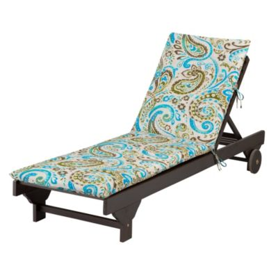 "Chaise Cushion-Knife Edge 72""x21-1/2""x2-1/2"""