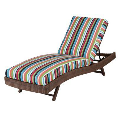 """Sunbrella Sun Lounger Cushion (Box Edge) 76""""x23-1/2""""x4"""" -"""