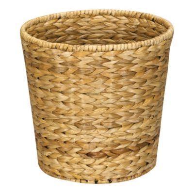 Natural Banana Leaf Wastebasket