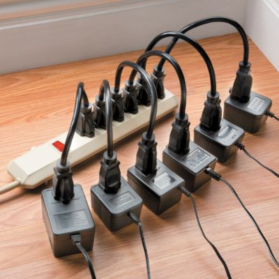 Electrical Cord Extenders-Set of 6