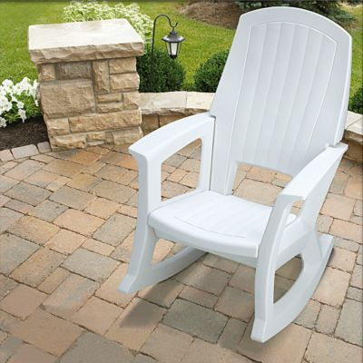 Outdoor Resin Rocker