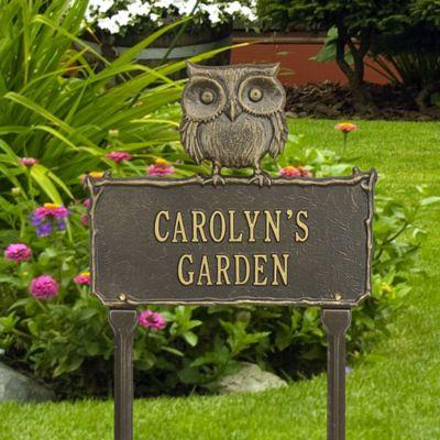 Owl Garden Sign