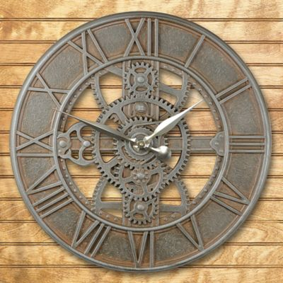 "21"" Gears Wall Clock"