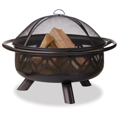 "36"" Round Outdoor Fire Bowl with a Triangle"