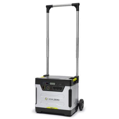 Yeti 1250 Solar Generator with Cart
