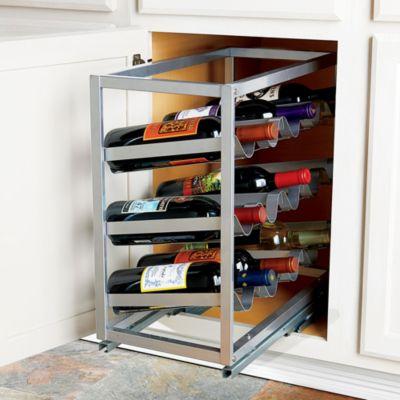 Slide Out Wine Storage Rack