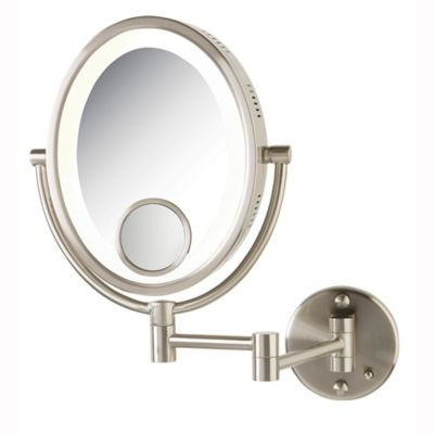 Oval Wall Mount Mirror-10X