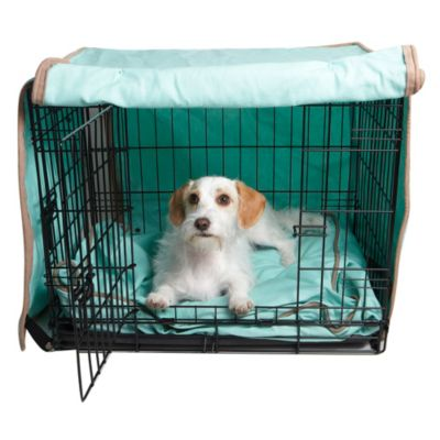 Molly Mutt Crate Covers-Nightswimming Blue