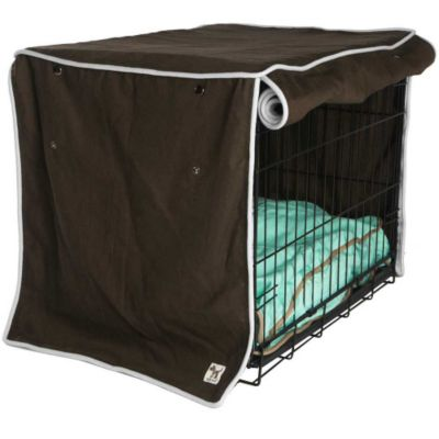 Molly Mutt Crate Covers-Landslide Chocolate