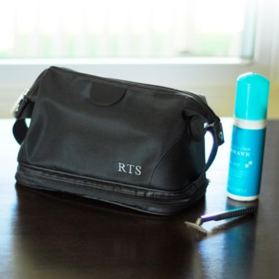 Personalized Men's Travel Toiletry Bag