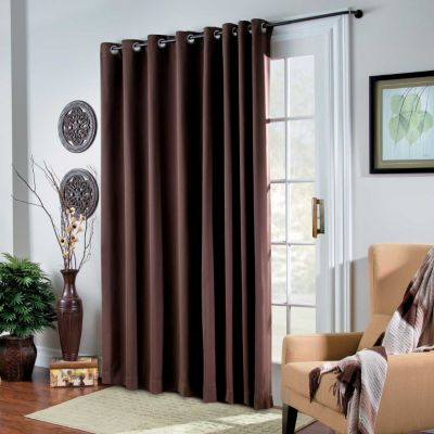 Room Darkening Grommet Top Patio Panel