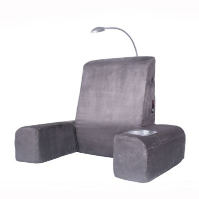 Bed Rest Lounger with Comfort Heated Massage