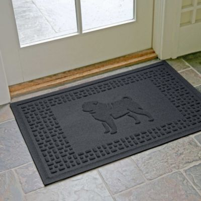 "Pug Fashion Floor Mat-24"" x 36"""