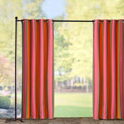 Sunbrella Outdoor Curtain Panel-Icon Pop Stripe