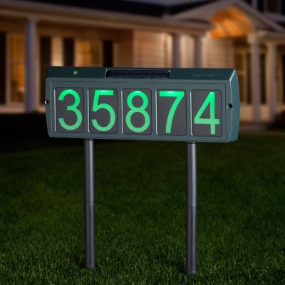 Solar Address Light