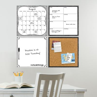 WallPOPS Peel & Stick Organization Decal Kit-Set of
