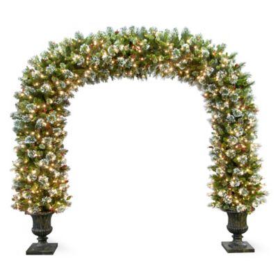 Wintery Pine Christmas Archway-8-1/2'