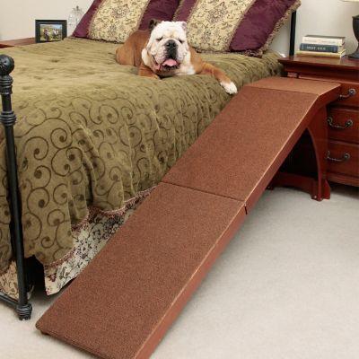 Wood Bedside Dog Ramp