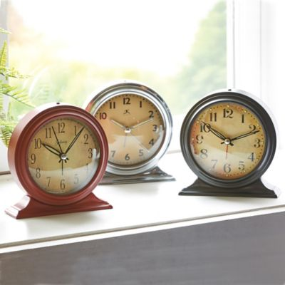 Boutique Tabletop Alarm Clock
