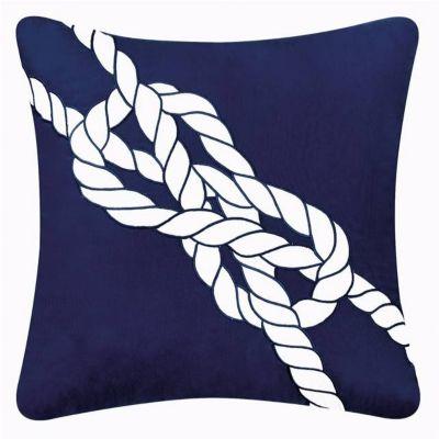 Nautical Knot Throw Pillow