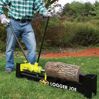 10-Ton Hydraulic Log Splitter