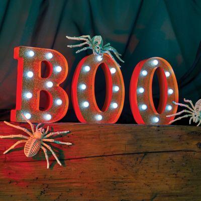 Marquee Boo Sign Halloween Decor