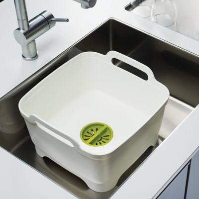 Wash & Drain Dishwashing Bowl with Drain Plug