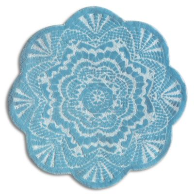 Doily Lace Rug