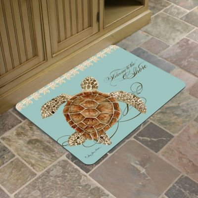"Welcome to the Shore Comfort Mat-22"" x 31"""