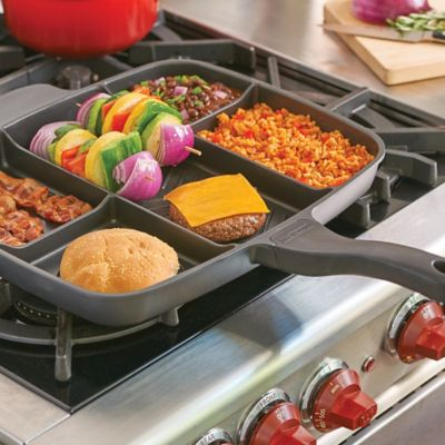 MasterPan 5 Section Grill Pan