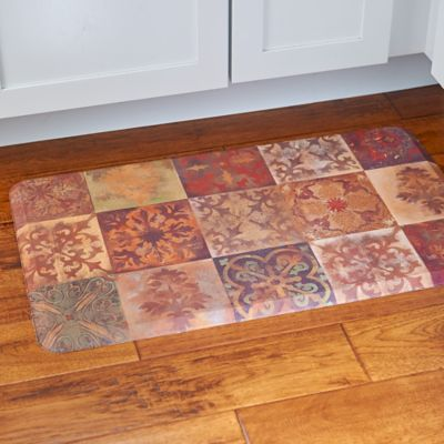 Barcelona Tiles Quick Dry Kitchen Mat