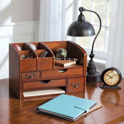 Wellesley Expanding Desktop Organizer