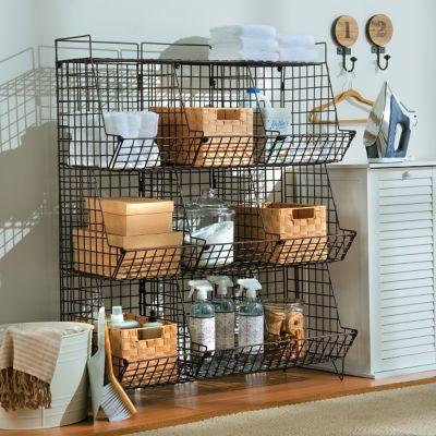 Sonoma Rustic Wire Storage Collection