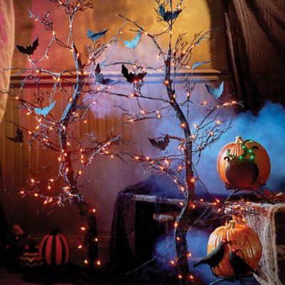 Pre-Lit Spooky Tree Halloween Decor