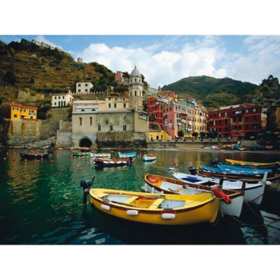 "Outdoor Canvas Art-Boat in Vernazza 30"" x 40"""