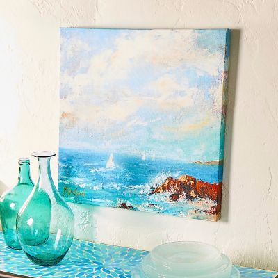 "Outdoor Canvas Art-Zamas Point 24"" x 24"""