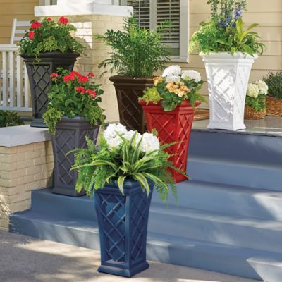 Mont Clair Self-Watering Tall Planter-28""
