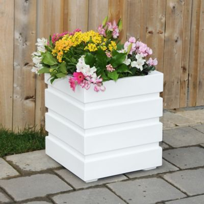Freeport Self-Watering Square Planter-18""